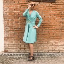 VES300 - Vestido rodilla...