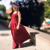 VES327 - Vestido maxi...