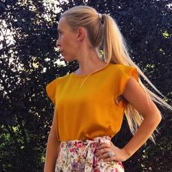 BL086 - Camisa amarillo...