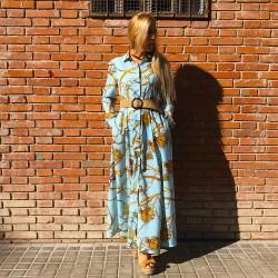 VES229 - Vestido largo...