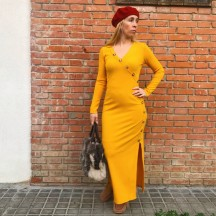 VES275 - Vestido largo...