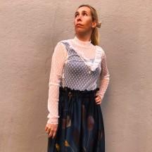 BL111 - Blusa transparente...