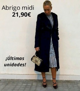 Abrigo midi - 21,90€